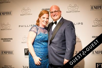 alyson landers in Brazil Foundation XII Gala Benefit Dinner NY 2014