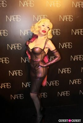amamda laperla in NARS Cosmetics Launch