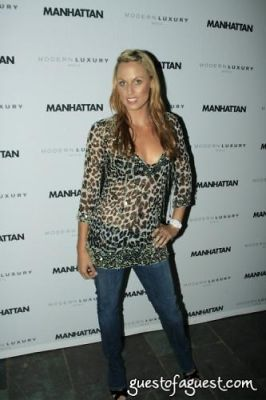 amanda beard in Manhattan Magazine Release Party