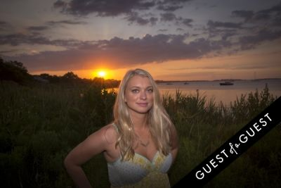 amanda bradford in GUEST OF A GUEST x DOLCE & GABBANA Light Blue Mediterranean Escape In Montauk