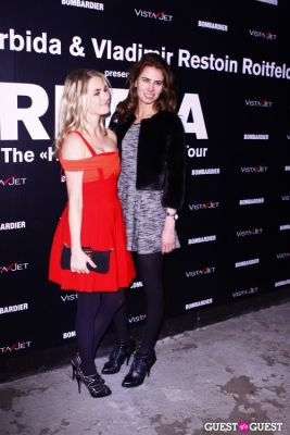amanda hearst in Vladimir Restoin Roitfeld and Andy Valmorbida present the opening of RETNA: The Hallelujah World Tour