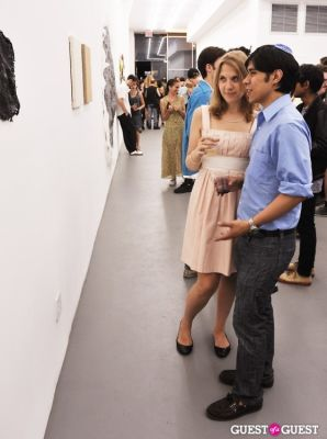 esteban chaim-serrano in Third Order exhibition opening event at Charles Bank Gallery