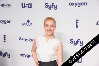 amanda schull in NBCUniversal Cable Entertainment Upfront