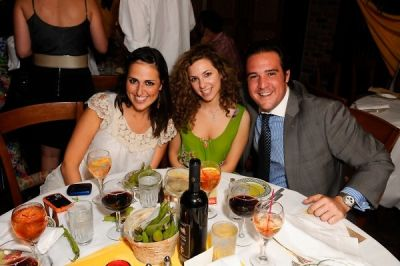 amanda slavin in Ceva Nights and Francesco Civetta's Birthday hosted by Cristina Civetta