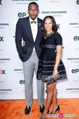 alexis welch in Amar'e Stoudemire In The Moment Premiere
