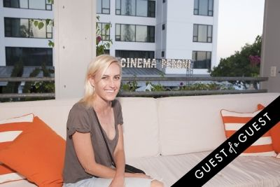 amber lane in Gia Coppola & Peroni Grazie Cinema Series