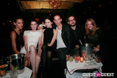 amber mtchell in Silent Models NYFW Wrap Party