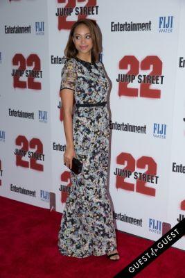 amber stevens in 22 Jump Street Premiere