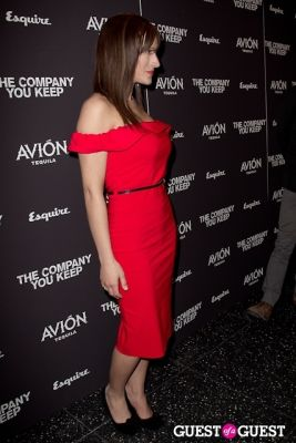 america olivo in Avion Espresso Presents The Premiere of The Company You Keep