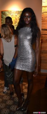aminat ayinde in Grand Opening of Wooster St Social Club/ NY INK