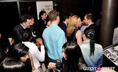 amir korangy in Luxury Listings NYC launch party at Tui Lifestyle Showroom