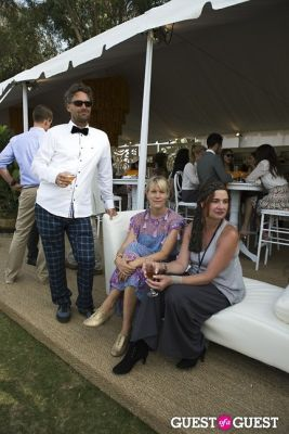 amy fleetwood--and-spoon-singh in Third Annual Veuve Clicquot Polo Classic Los Angeles