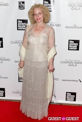 amy irving in 40th Annual Chaplin Awards honoring Barbra Streisand