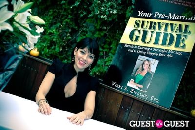 amy kapnick in Vikki Ziegler Book Premier Party at The Maritime Hotel