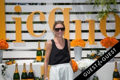 amy smilovic in Veuve Clicquot Polo Classic 2014