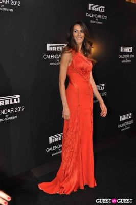 ana carolina-scaff in Pirelli Celebrates 2012 Calendar Launch