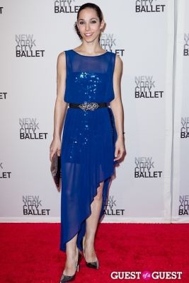 ana sophia-scheller in New York City Ballet's Fall Gala