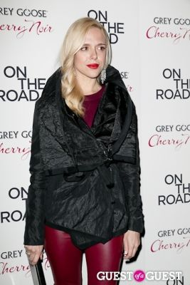 anastasia ganias in NY Premiere of ON THE ROAD