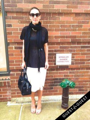 anastassia tsivy in Summer 2014 NYC Street Style