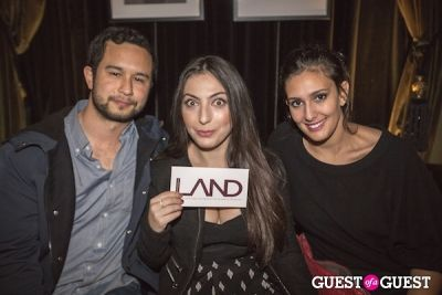 marisa guterman in LAND Celebrates an Installation Opening at Teddy's in the Hollywood Roosevelt Hotel