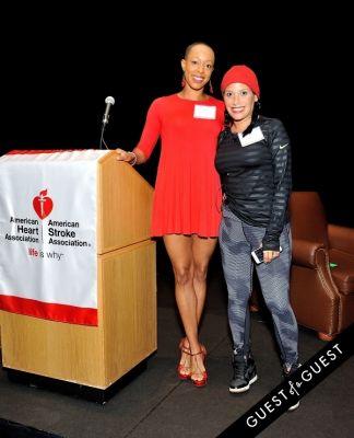 andia winslow in Amer. Heart Assoc. Brooklyn Go Red For Women Breakfast