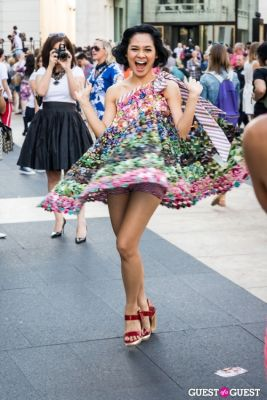 andien aisyah in NYFW 2013: Day 4 at Lincoln Center