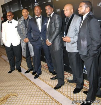 trey songz in Diddy 40th Birthday