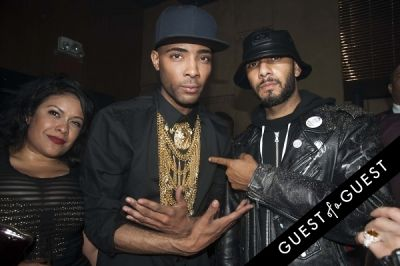 swizz beatz in King Andre Birthday Bash