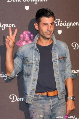andre saraiva in Dom Perignon & Jeff Koons Launch Party