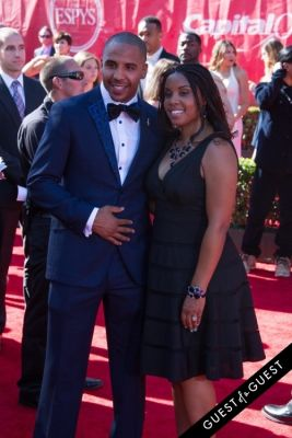 andre ward in The 2014 ESPYS at the Nokia Theatre L.A. LIVE - Red Carpet