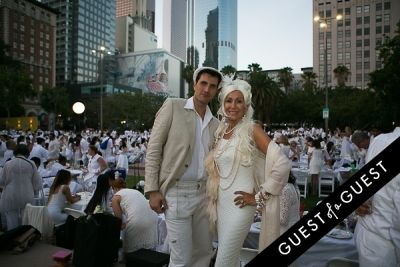andrea sorrentino in Le Diner En Blanc Los Angeles 2015