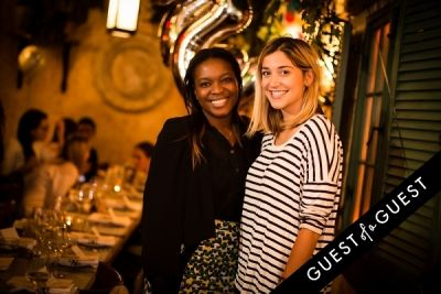 elizabeth brown in Guest of a Guest's Yumi Matsuo Hosts Her Birthday Dinner At Margaux At The Marlton Hotel