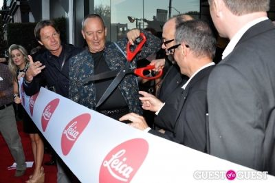 andreas kaufmann in Leica Store Los Angeles: Grand Opening