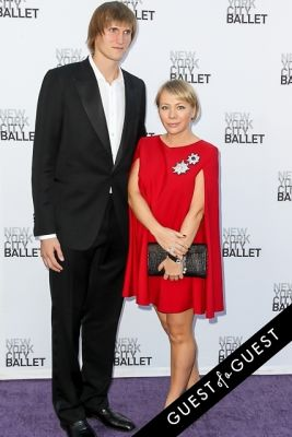 masha lopatova in NYC Ballet Fall Gala 2014