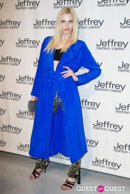 andrej pejic in Jeffrey Fashion Cares 10th Anniversary Fundraiser
