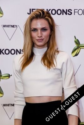 andrej pejic in Jeff Koons for H&M Launch Party