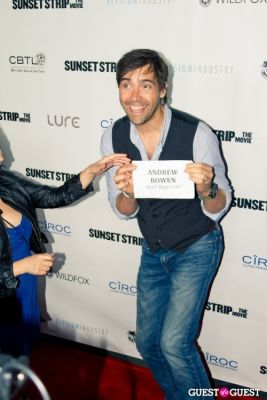"""andrew bowen in """"Sunset Strip"""" Premiere After Party @ Lure"""