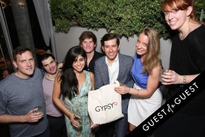 andrew butash in GYPSY CIRCLE Launch Party