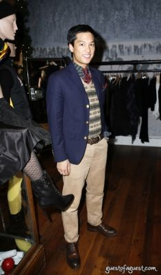 andrew chan in Ralph Lauren RiverKeeper Cocktails