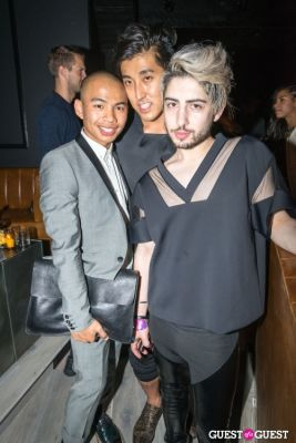 andrew cruz in Prabal Gurung's Runway Show After Party