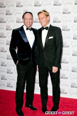 andrew saffir in New York City Ballet Fall Gala Celebrates Valentino