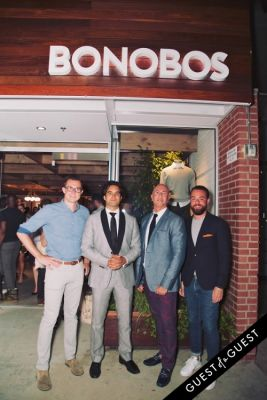andy dunn in Bonobos Guideshop LA Opening