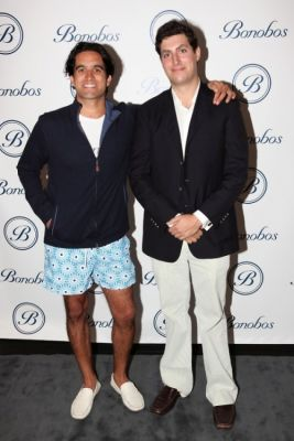 dave eisenberg in Bonobos Swimtrunk Launch