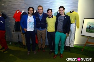 ben stein in Bonobos Launches Maide Golf