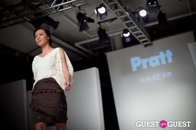 angel pai in The Pratt Fashion Show with Honoring Hamish Bowles with Anna Wintour 2011