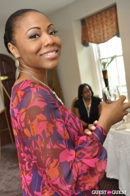 angela belton in Shea Radiance Target Launch Party
