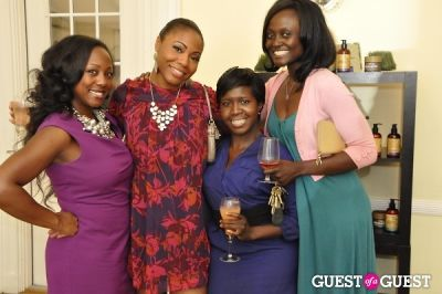 tosin adegbola in Shea Radiance Target Launch Party