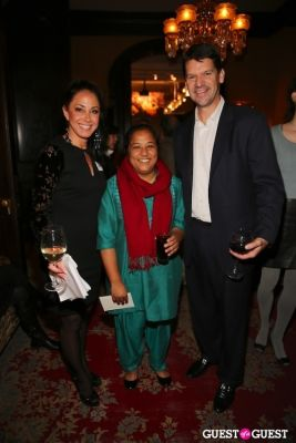 tom morgan in 2012 CNN Hero of the Year Pushpa Basnet Fete