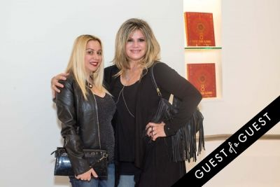 briana alexis in Lisa S. Johnson 108 Rock Star Guitars Artist Reception & Book Signing
