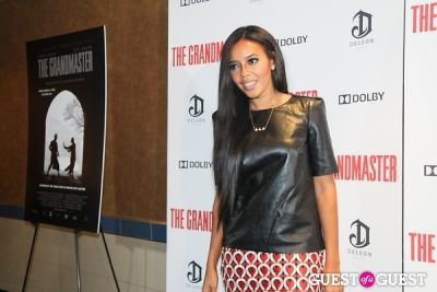 angela simmons in The Grandmaster NY Premiere